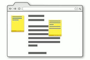 Как добавить заметки и стикеры для конкретных сайтов в браузере