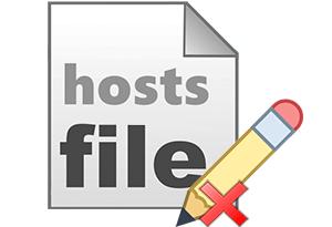 Почему недоступен к редактированию hosts файл – не сохраняются изменения