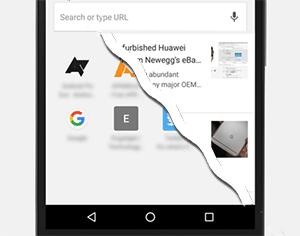 Как отключить быстрые ссылки (рекомендации) на стартовой странице Google Chrome для Android