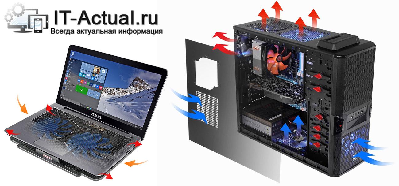 Система охлаждения компьютера: радиаторы и вентиляторы (кулеры)
