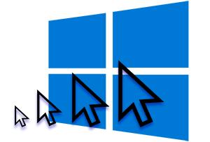 Как увеличить размер курсора мыши в Windows 10