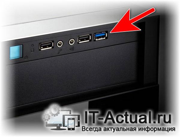 Порты USB на лицевой панели ПК подключены к материнской плате через шлейф