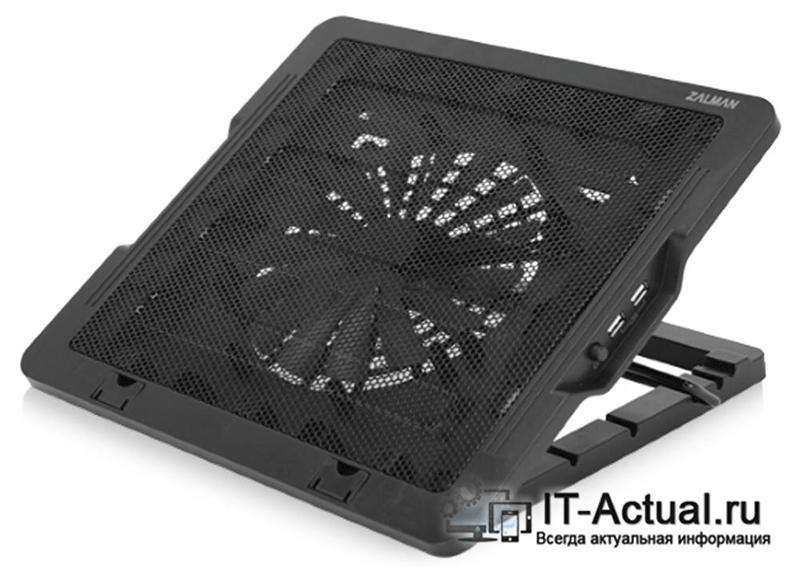 Типовая охлаждающая подставка для ноутбука