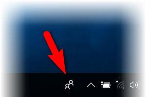 Как убрать иконку «Люди» в Windows 10 с панели задач (трея)