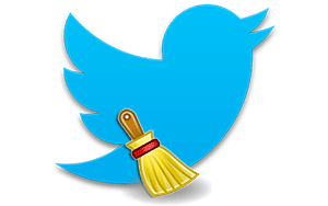 Как быстро очистить Твиттер от всех записей