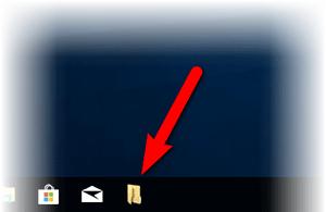 Как разместить ярлык папки (закрепить) в панели задач Windows 10