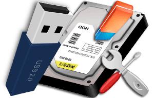 Как произвести низкоуровневое форматирование жёсткого диска или флешки