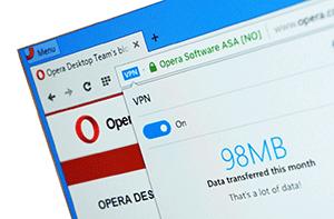 Как в Opera включить бесплатный VPN – обезопасим интернет соединение!