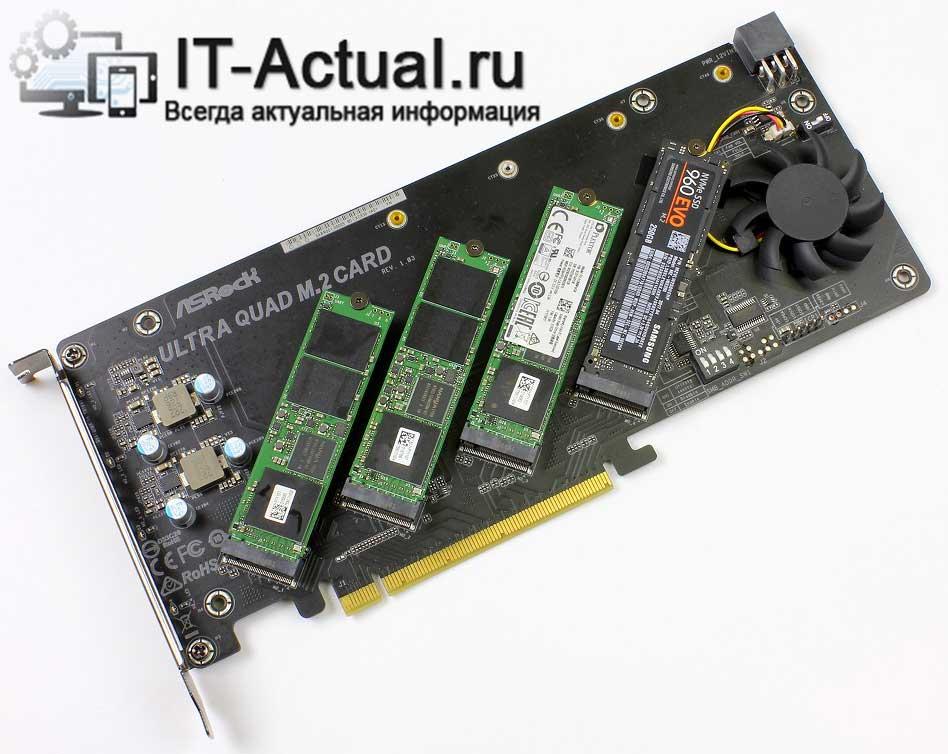 RAID массив из SSD дисков