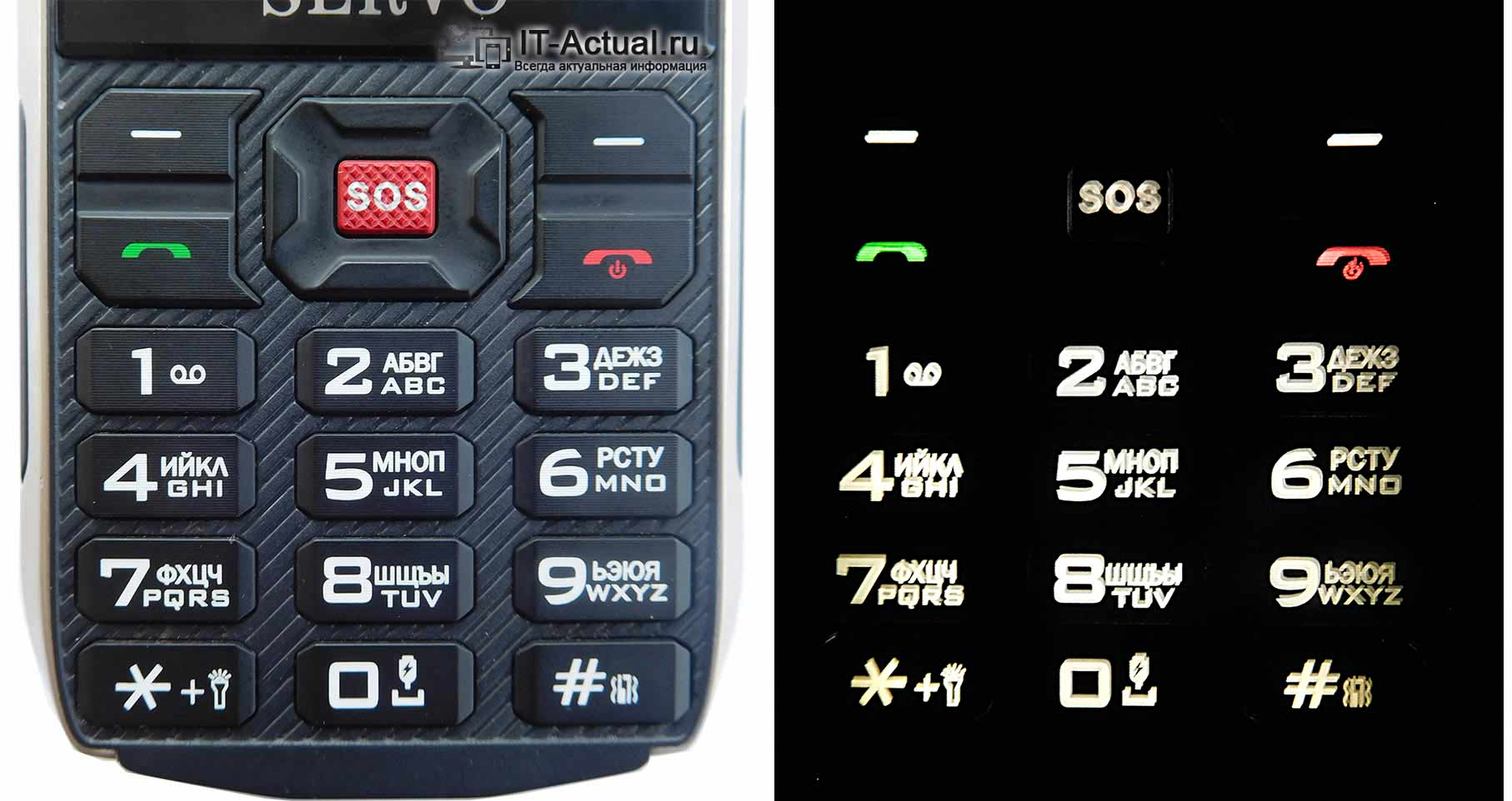 Клавиатура телефона Servo H8