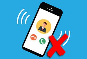 Как отключить звук вызова при входящем звонке на смартфоне