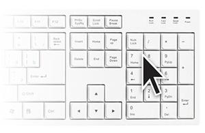 Как управлять курсором с клавиатуры и в целом ПК, если сломалась мышка